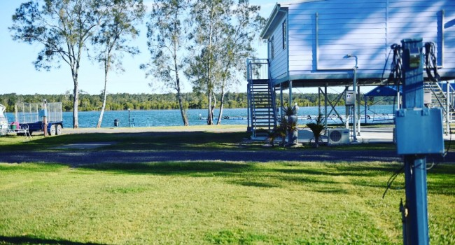 Powered sites, pelican caravan park nambucca heads